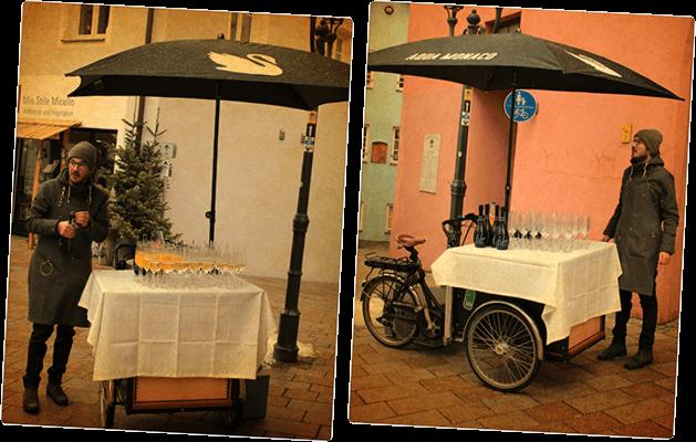 Kami Kiste - mobile Bar mit Service